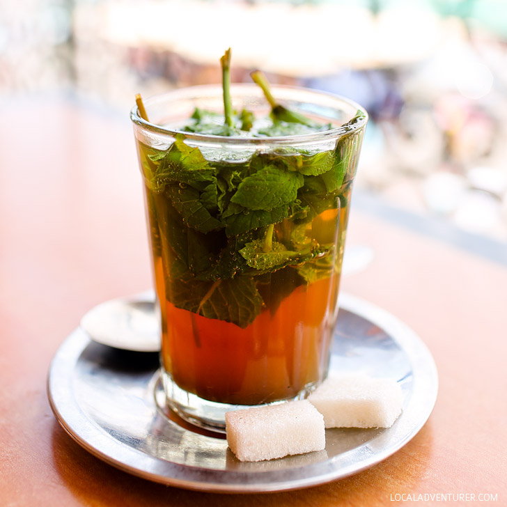 Have a Glass of Moroccan Mint Tea (21 Amazing Things to Do in Marrakech).