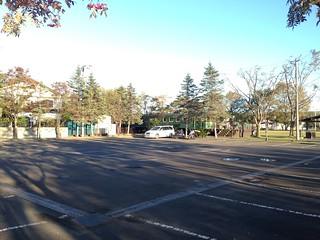 hokkaido-michinoeki-okoppe-train-hostel-parking