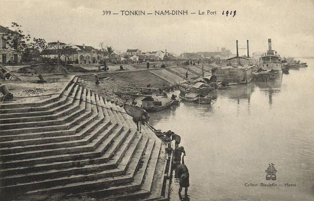 Tonkin - Nam-Dinh - Le Port 1919