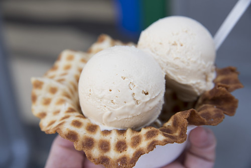 Salted Caramel Ice Cream, Smitten Ice Cream, San Francisco