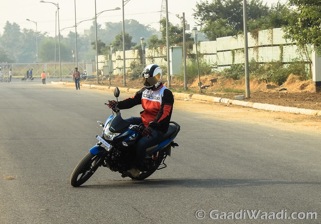 Honda CB Shine Sp test ride review-17