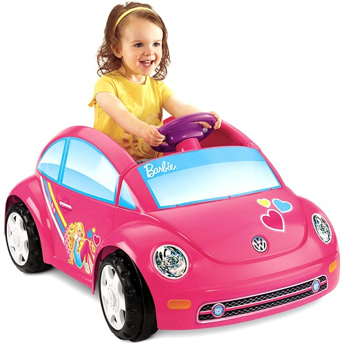 Fisher Price Barbie Vw Beetle Juguete Electrico Nino Nina Wimka Store