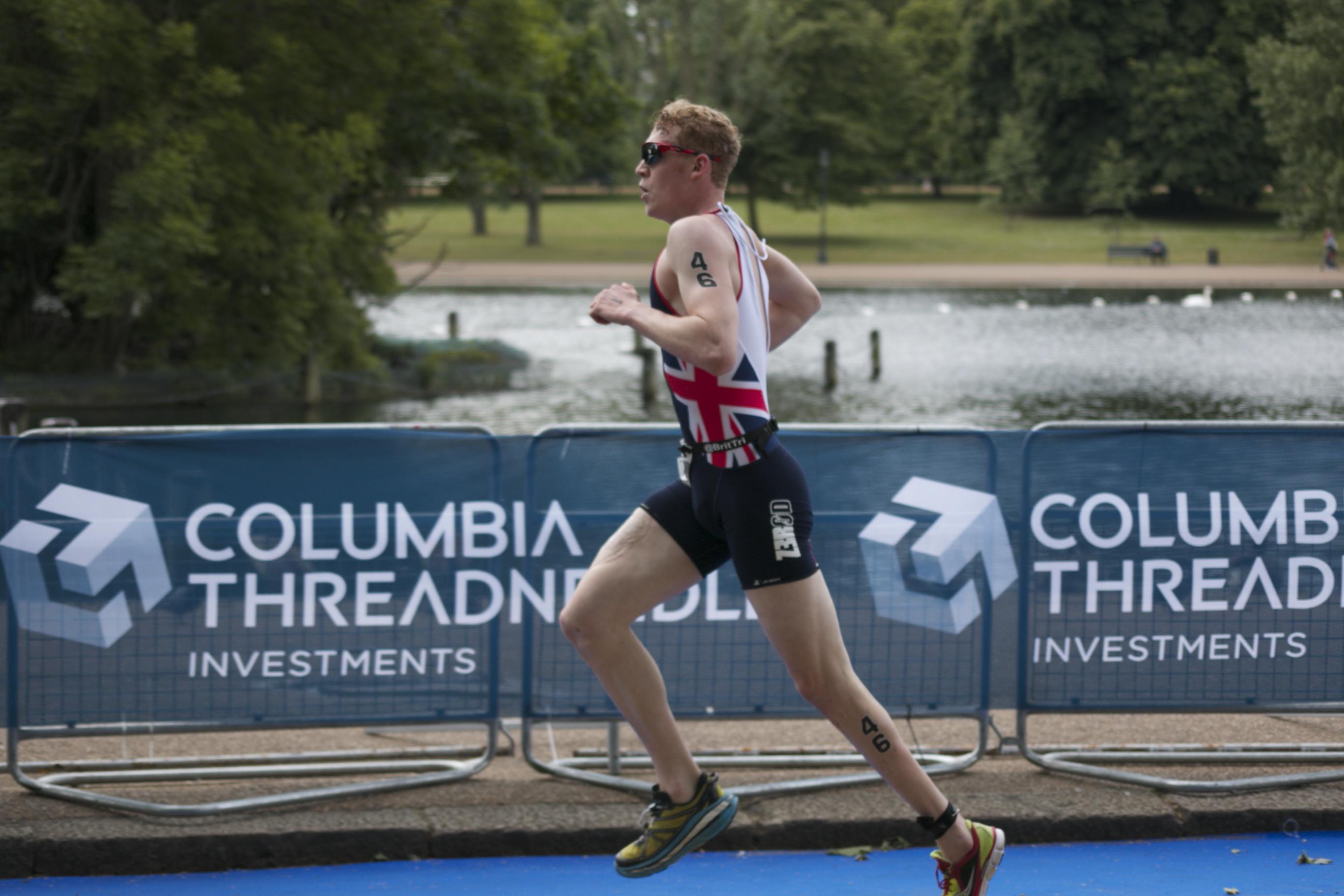 George Peasgood, 2015 British Triathlon Male Paratriathlete of the Year