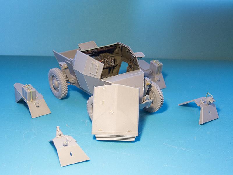 Projet Normandy : Dingo MK.III // Miniart // 1/35 23255416675_ec7562e971_c