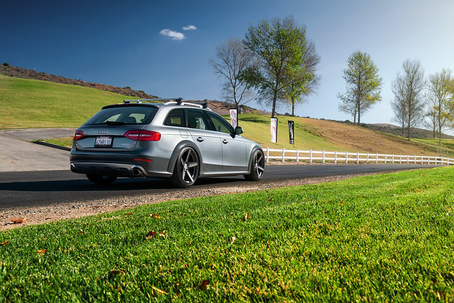 Audi Allroad with TSW Ascent