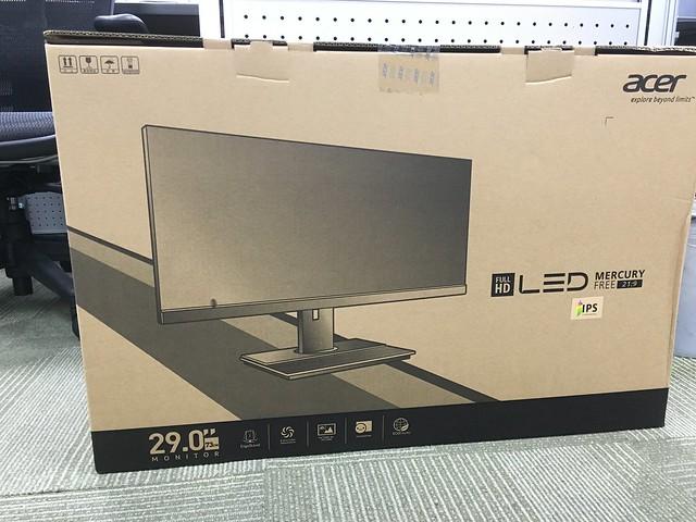 網路評價不明的 acer B296CL 29吋寬IPS超廣角液晶螢幕XD