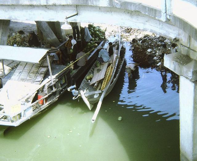 SAIGON 1967 - Rạch Bến Nghé - Cầu Ông Lãnh