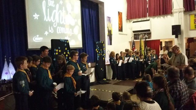 A&L District Scout Carol Service