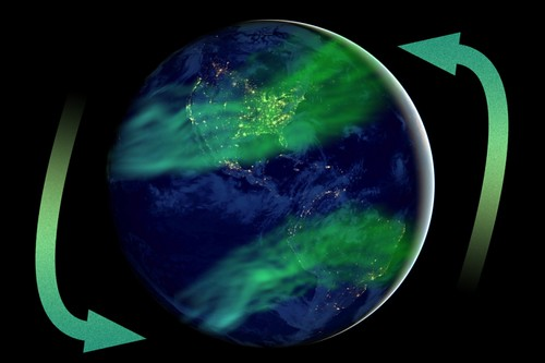 Inversión del campo geomagnético