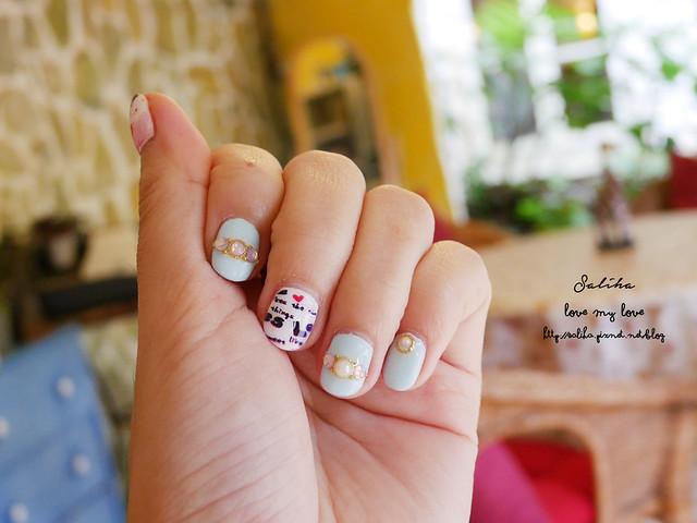 可愛俏皮光療指甲 (26)