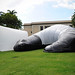 "The pneumatic structures were designed and built by 43 students in Architecture 235, a second year design studio course, to be pop-up galleries that on the inside display the work of a project.  For more: <a href=""http://www.hawaii.edu/news/2016/12/07/giant-inflatable-structures-give-students-valuable-experience/"" rel=""nofollow"">www.hawaii.edu/news/2016/12/07/giant-inflatable-structure...</a>"