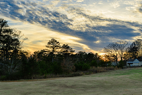 sunset caneycreekpreserve park