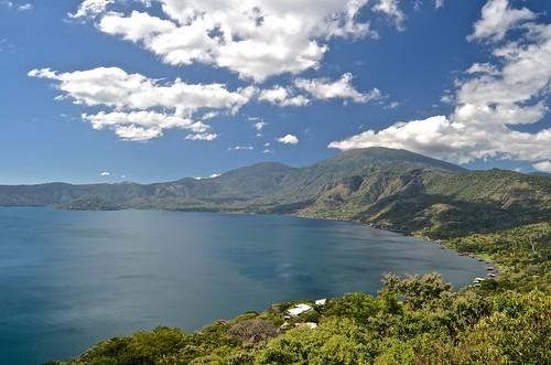 overseas adventure travel clouds coatepequelake volcaniccadera oat elsalvador routeofthemaya