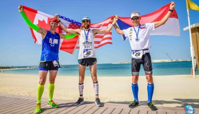7 maratonů, 7 dní, 7 kontinentů: Vabroušek druhý za novým světovým rekordmanem Wardianem