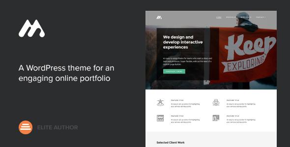Meth v2.0.0 - A Minimal One Page Portfolio Theme