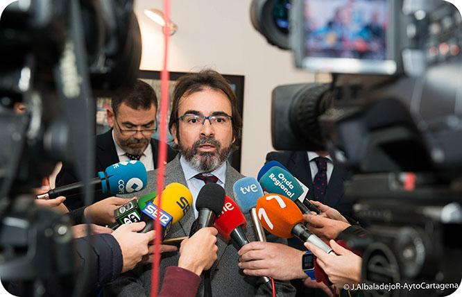 Murcia pide ayuda a Europa para desarrollar la ZAL de Cartagena