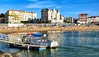 Playa de St-Jean-de-Luz, Aquitania, Francia.