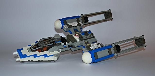 Y-Wing Blue