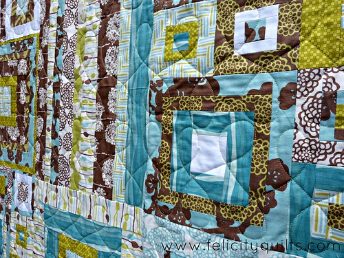 Strips and Squares Everywhere quilting