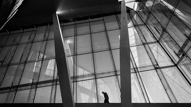 Opera house - Oslo, Norway - Black and white street photography