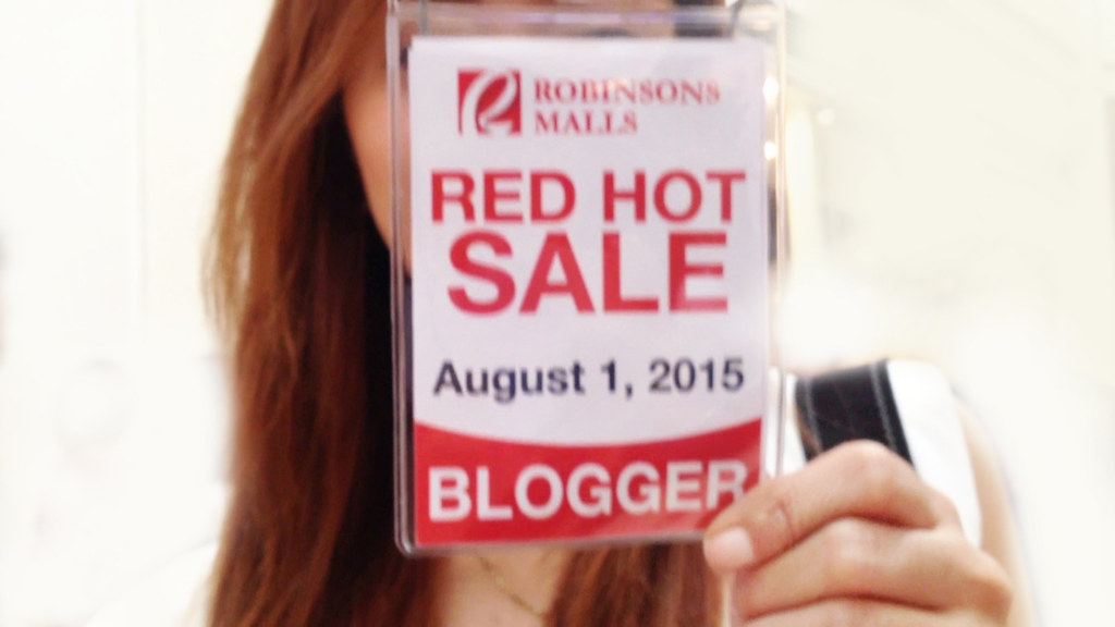 Robinsons Malls Red Hot Sale 2015