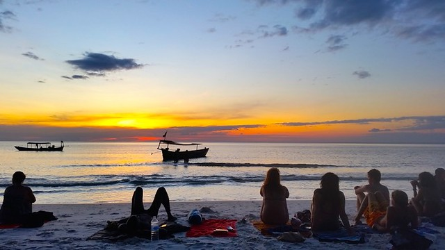 12. Watch epic sunsets in cambodia with Blue Osa Journeys