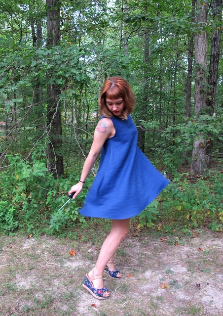 Papercut Patterns Sway dress - twirl