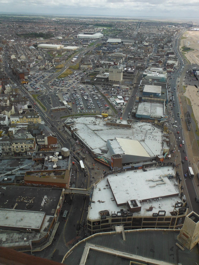 View From Blackpool Tower 7