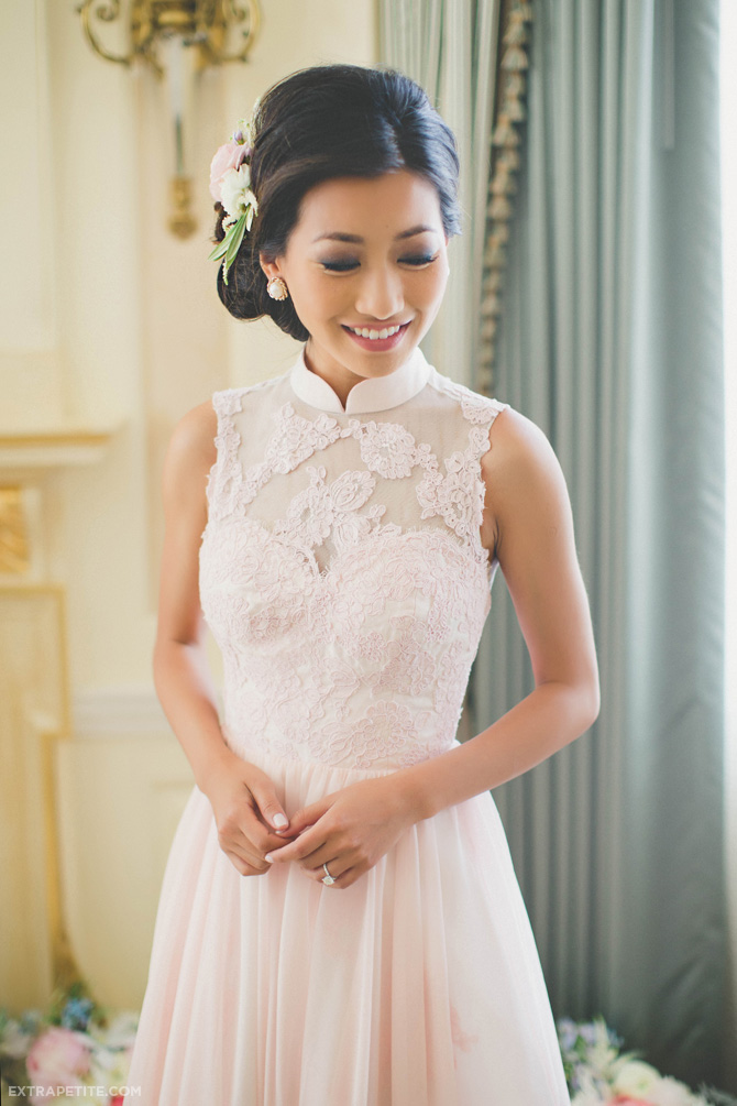 Extra petite petite fashion style tips and diy for Chinese style wedding dress