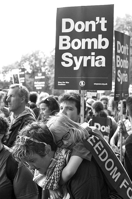 Don't Bomb Syria, London, 12 September 2015