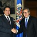 Secretary General Meets with former President of Panama