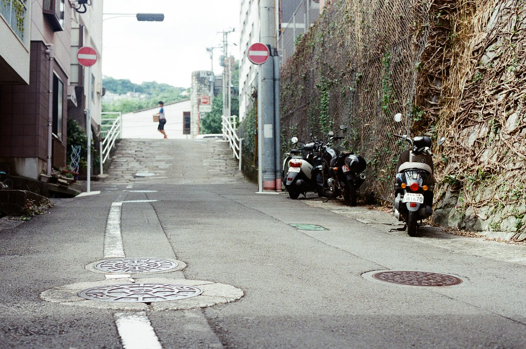 今博多町 長崎 Nagasaki 2015/09/08 今博多町  Nikon FM2 Nikon AI Nikkor 50mm f/1.4S Kodak UltraMax ISO400 Photo by Toomore
