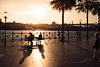 Sunset Quay by squarelights