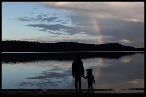 Réserve Faunique Mastigouche - Lac au sable - arc-en-ciel