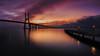 Bridge sunrise by sgsierra