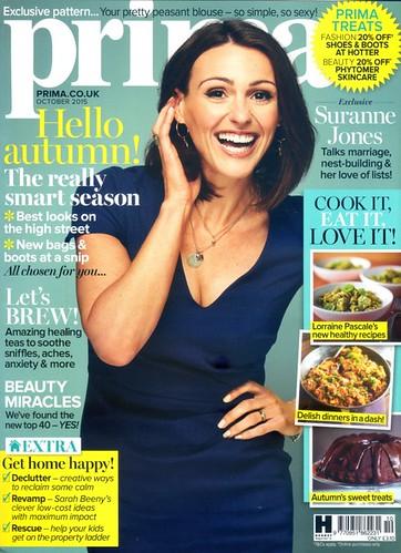 PRIMA Magazine - October 2015 - Cover