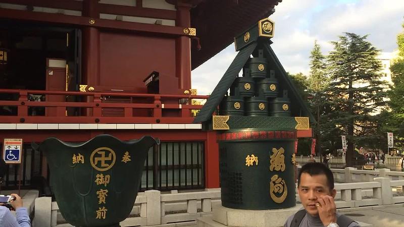 Scene at Asakusa.