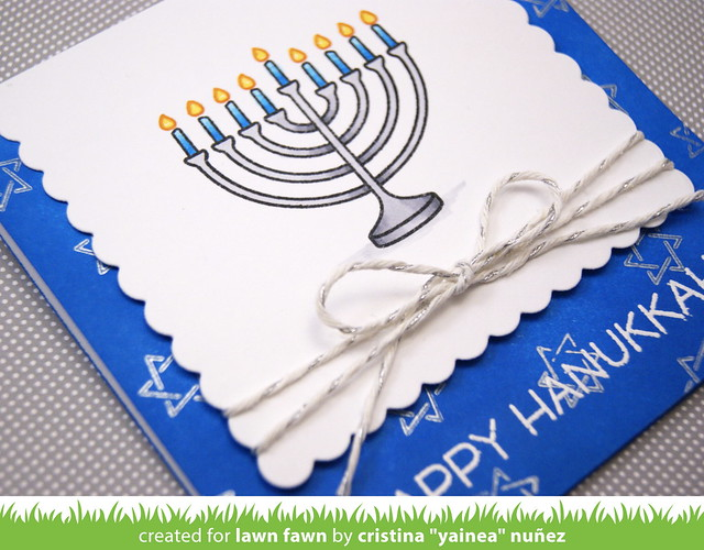 Happy Hanukkah - detail