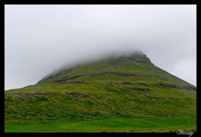 Volcán Kirkjufell desde el oeste