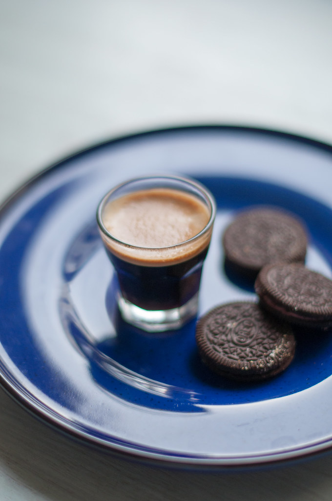Day 282.365 - Espresso with Oreo