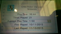 It took me nearly 40 hours to do it, but I have beaten Chibi Robo: Zip Lash with 100% completion.