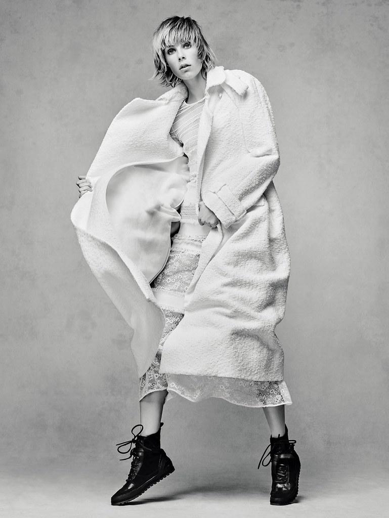 Эди Кэмпбелл — Фотосессия для «Vogue» CH 2015 – 2