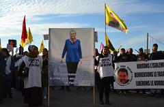 Manifestation kurde sur le vieux port à Marseille - Photo of Le Rove