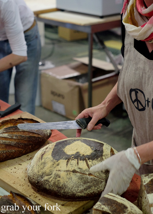 Iggy's 7-flour bread at Rootstock Sydney 2015