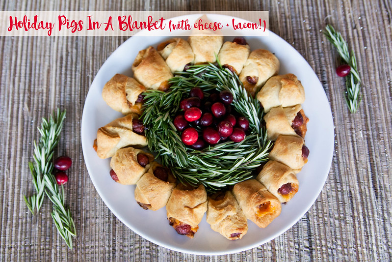 cute & little blog | holiday bacon and cheese pigs in a blanket wreath recipe | lit'l smokies #joy2themeal - 30-Minute Holiday Pigs In Blanket Recipe by Dallas lifestyle blogger cute & little