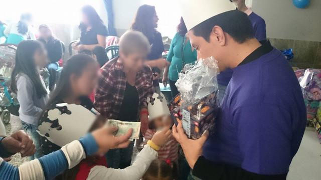 Ayuda Atea — Santa Librada (19 Dic / 2015)