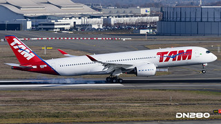 TAM A350-941 msn 024