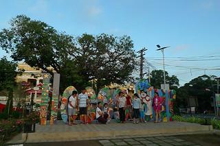 Vigan - Plaza Salcedo Ilocos Sur sign
