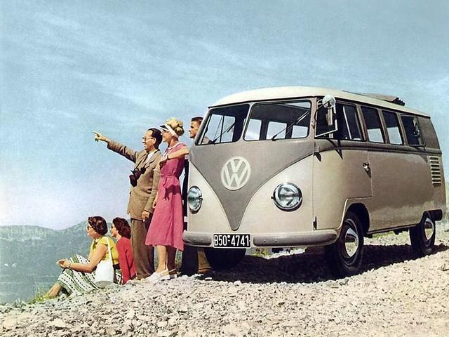 Минивэн Volkswagen T1 Kombi. 1950 – 1967 годы