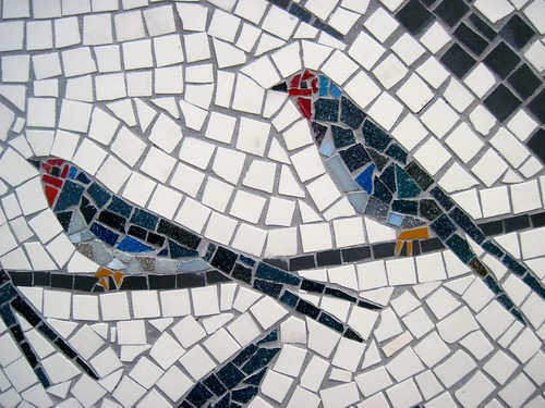 Mosaic at West Hackney Recreation Ground